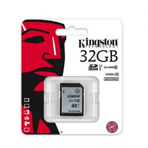 tarjeta-memoria-kingston-sd-clase-10-32gb