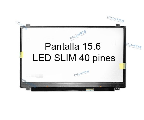 Pantalla 15.6 LED SLIM 40 pines